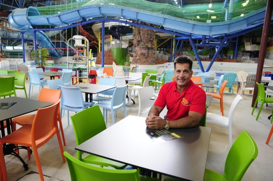 The owner a water park which is set to hold a nude family swim session has labelled criticism that the event could attract sex offenders as 'scaremongering'. Mo Chaudry said Waterworld in Stroke-on-Trent, Staffordshire, had been 'unjustly accused of encouraging paedophiles'. Caption: Mo Chaudry, owner of Waterworld in Stroke-on-Trent, Staffordshire