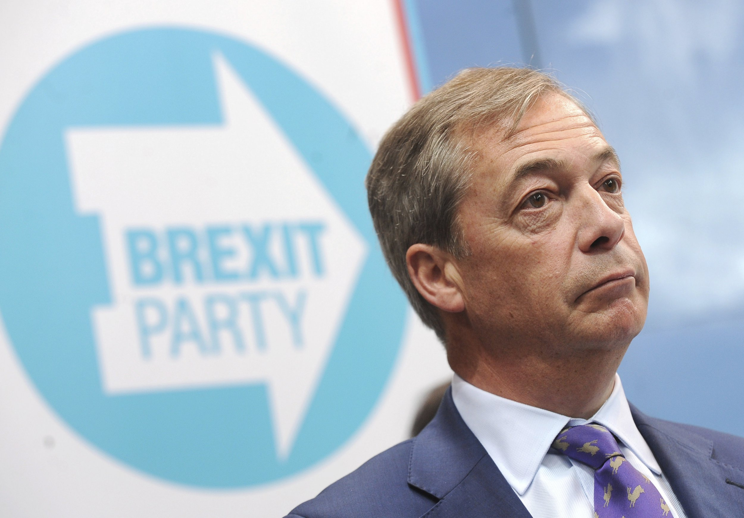 Nigel Farage vows 'no more Mr Nice Guy' at launch of Brexit Party