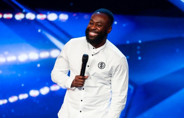 Kojo Anim on Britains Got Talent