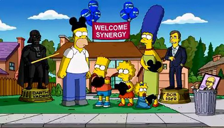 'Put on the mouse ears': The Simpsons accept their fate as Disney characters