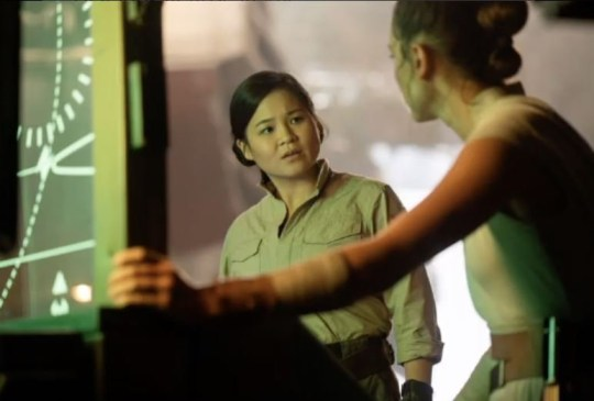 Reaction to Rose first look in Star Wars episode IX - Kelly Marie Tran