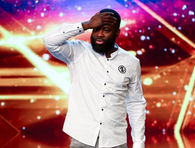 Kojo Amin on Britain's Got Talent 2019