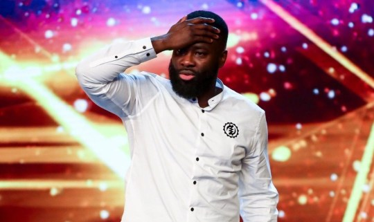 Comedian Kojo Anim on Britain's Got Talent