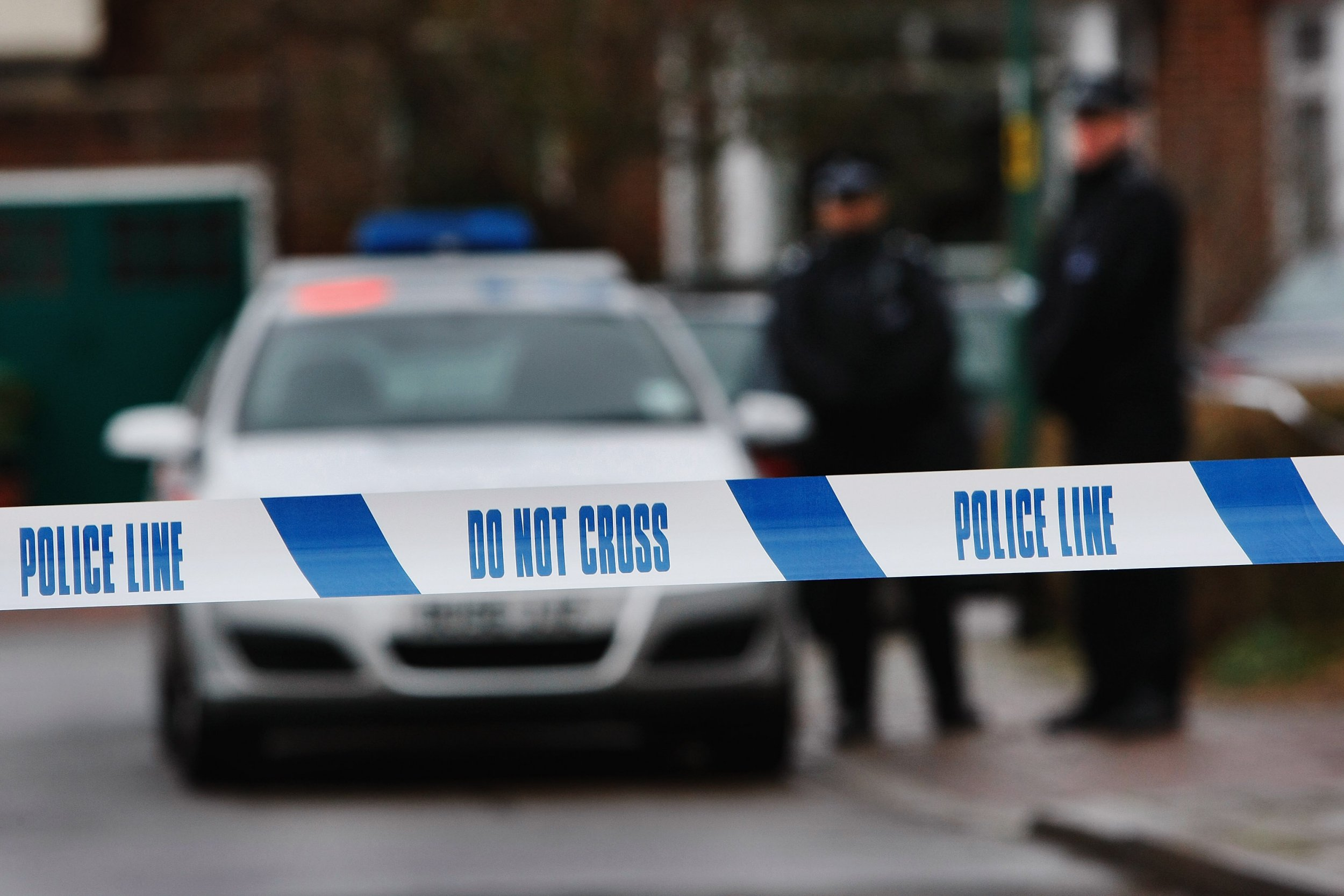Seven police officers injured after 'being sprayed with ammonia'
