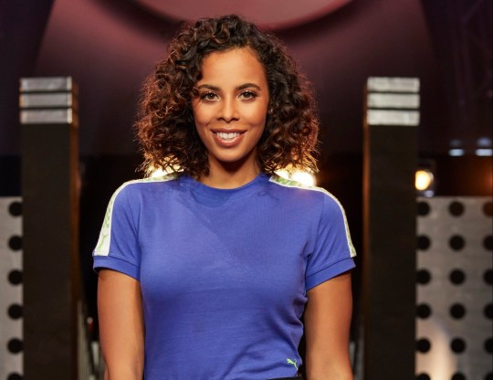 From Potato Ninja Warrior UK: SR5 on ITV Pictured: Rochelle Humes. This photograph is (C) ITV Plc and can only be reproduced for editorial purposes directly in connection with the programme or event mentioned above. Once made available by ITV plc Picture Desk, this photograph can be reproduced once only up until the transmission [TX] date and no reproduction fee will be charged. Any subsequent usage may incur a fee. This photograph must not be manipulated [excluding basic cropping] in a manner which alters the visual appearance of the person photographed deemed detrimental or inappropriate by ITV plc Picture Desk. This photograph must not be syndicated to any other company, publication or website, or permanently archived, without the express written permission of ITV Plc Picture Desk. Full Terms and conditions are available on the website www.itv.com/presscentre/itvpictures For further information please contact: iwona.karbowska@itv.com / 0207 157 3043