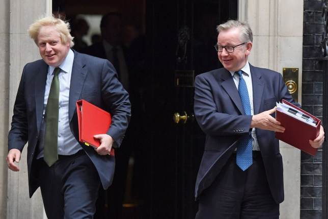 Boris Johnson faces challenge from rival Michael Gove