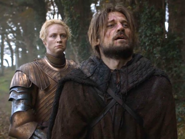 Picture: HBO Jaime going to die in the arms of Brienne
