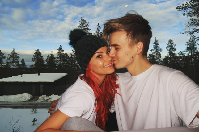 Joe Sugga and Dianne Buswell in Finland