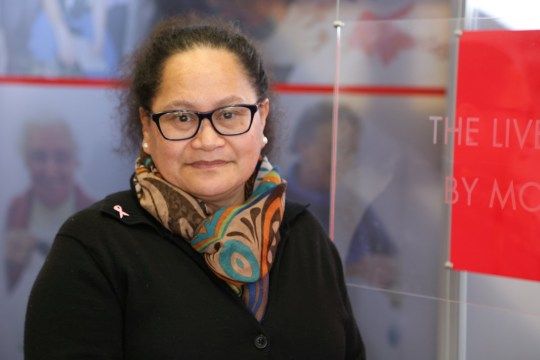 Red Cross worker Louisa Akavi, a New Zealand national, is seen in this undated handout photo released by the International Committee of the Red Cross (ICRC) to Reuters on April 14 2019. ICRC/Handout via REUTERS ATTENTION EDITORS - THIS IMAGE WAS PROVIDED BY A THIRD PARTY