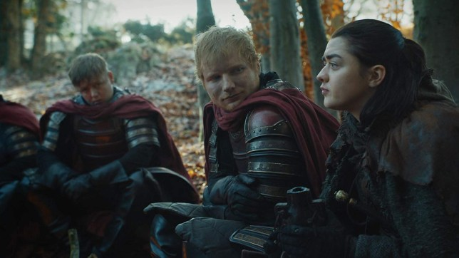 Game of Thrones season 8 episode 1 reveals what happened to Ed Sheeran's unpopular cameo A still from Game of Thrones - Ed Sheeran