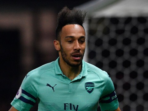 Pierre-Emerick Aubameyang scored goal of the season against Watford, claims Dean Saunders