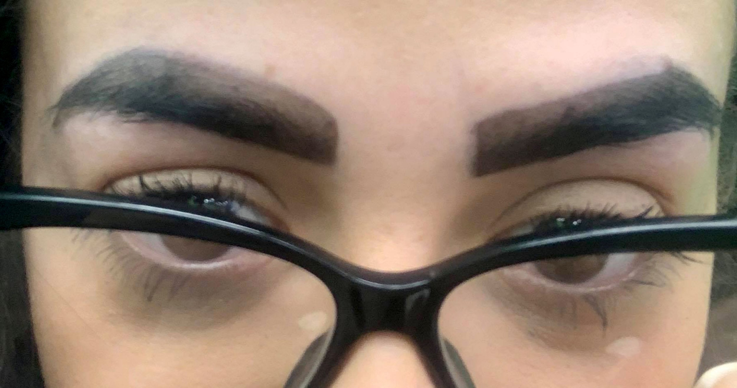 Woman left with eyebrows that look like 'they were drawn on with a marker pen' after salon wax and tint