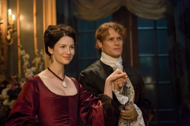 Outlander's Jamie and Claire