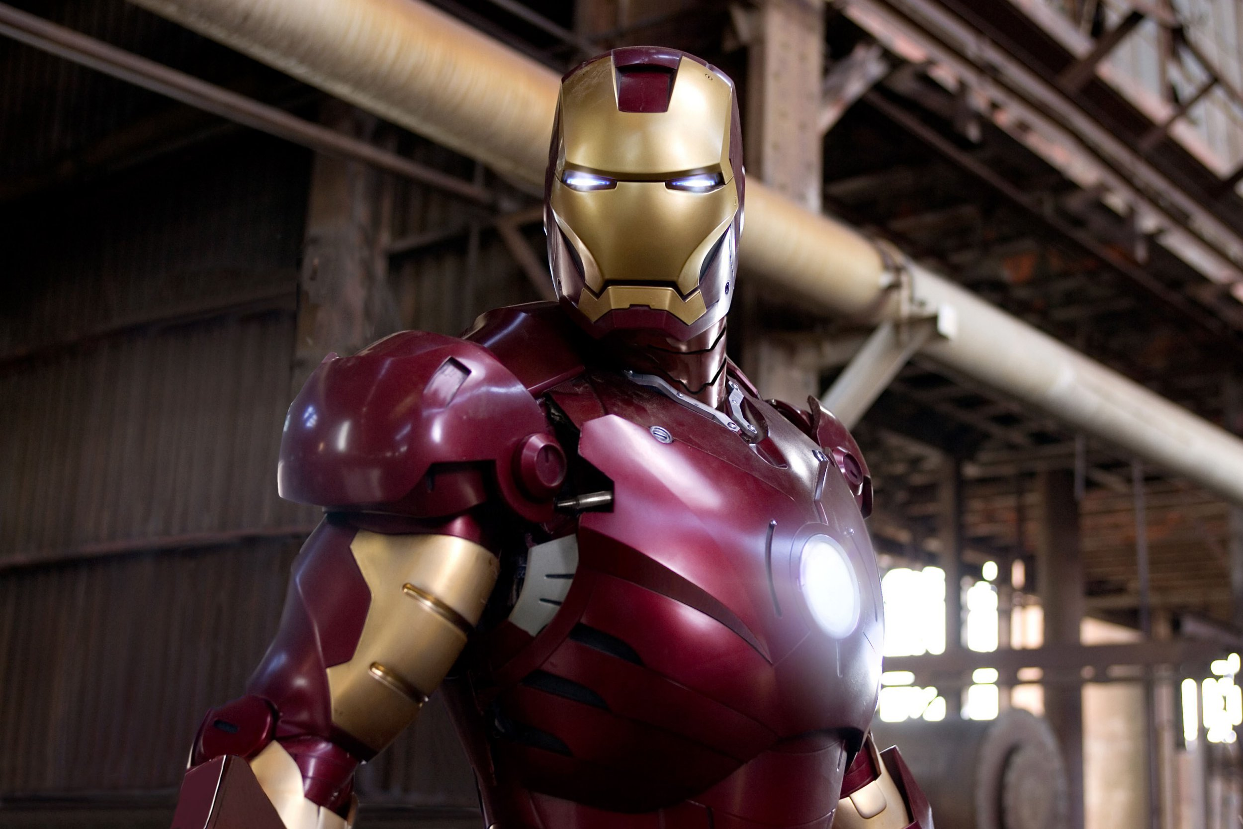 Editorial use only. No book cover usage. Mandatory Credit: Photo by Marvel/Paramount/Kobal/REX/Shutterstock (5886260bm) Robert Downey Jr Iron Man - 2008 Director: Jon Favreau Marvel/Paramount USA Scene Still Animation Ironman