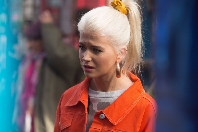 Lola (Danielle Pearce) is upset by Ruby (Louisa Lytton)