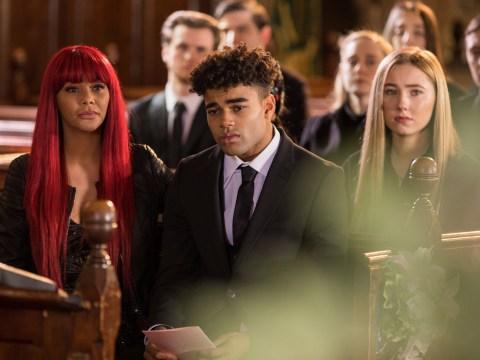 Hollyoaks spoilers: Heartbreaking scenes at Lily McQueen's funeral as Prince breaks down