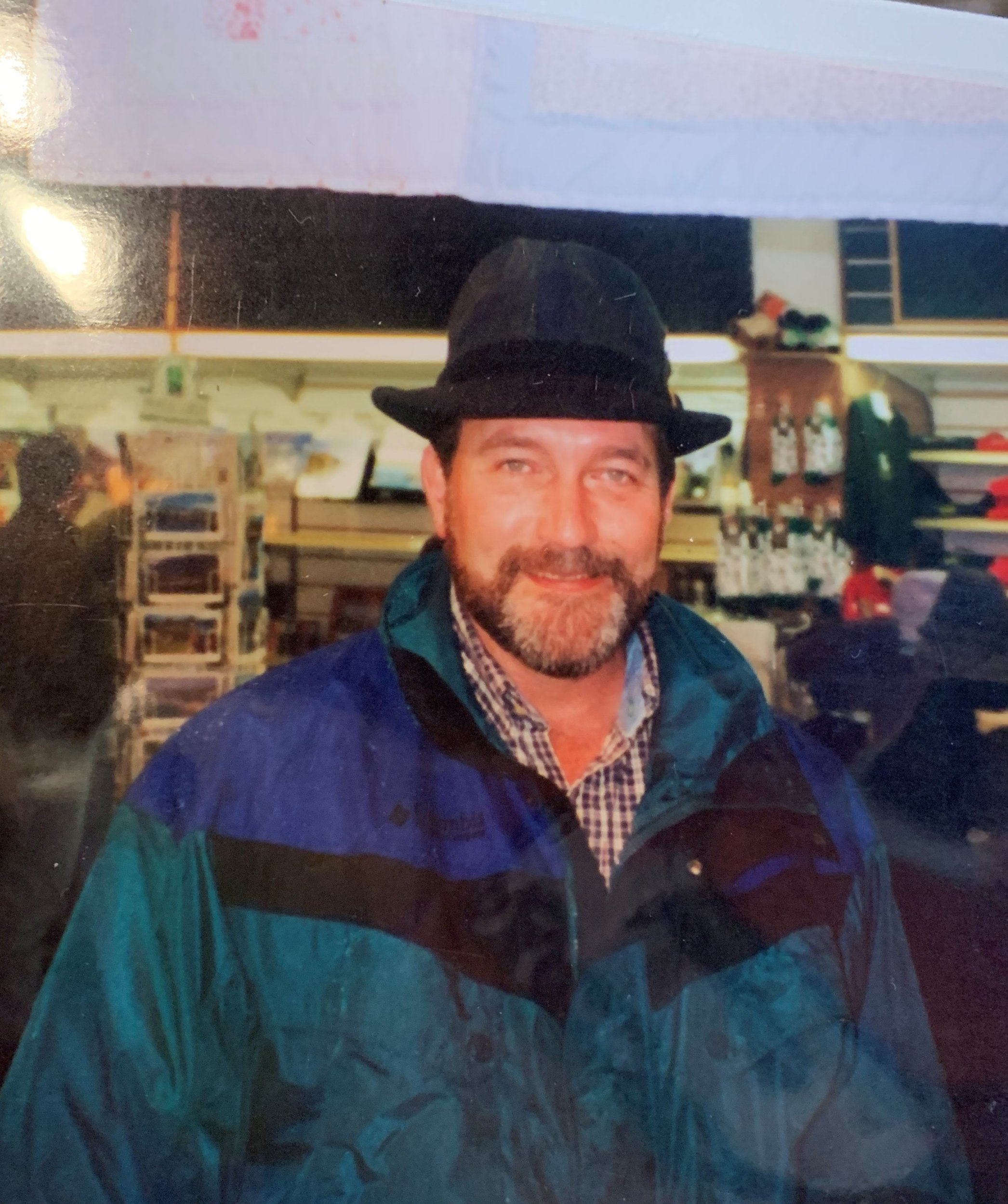 Kailey's father Kevin in 2001 (Picture: Kailey Dominque)