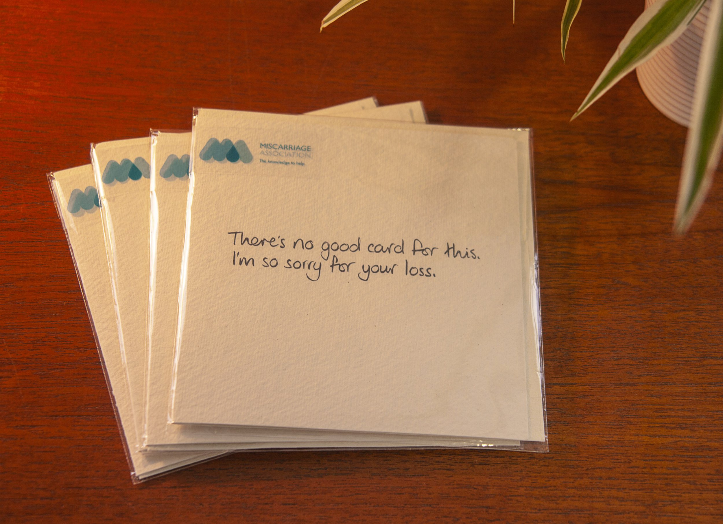 Miscarriage Association launches cards designed specifically for people who have lost babies