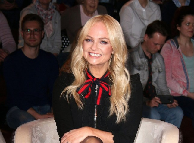 "Emma Bunton visits the ""Markus Lanz Late Show"" TV Show at Phoenixhof Studios in Hamburg on April 17, 2019 Pictured: Emma Bunton Ref: SPL5080693 170419 NON-EXCLUSIVE Picture by: A-way! / SplashNews.com Splash News and Pictures Los Angeles: 310-821-2666 New York: 212-619-2666 London: 0207 644 7656 Milan: 02 4399 8577 photodesk@splashnews.com World Rights, No Austria Rights, No Germany Rights, No Switzerland Rights"