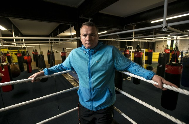 Mandatory Credit: Photo by REX/Shutterstock (8373461c) Former professional boxer Bradley Welsh in his new boxing gym Former professional boxer Bradley Welsh, Edinburgh, Scotland, UK - 08 Sep 2015 Former professional boxer Bradley Welsh in his new boxing gym, Europe's largest, with seven boxing rings, 160 bags and a sprint running track - all in the middle of Edinburgh. Bradley also plays a Sauna (Brothel) owner in new film Trainspotting 2
