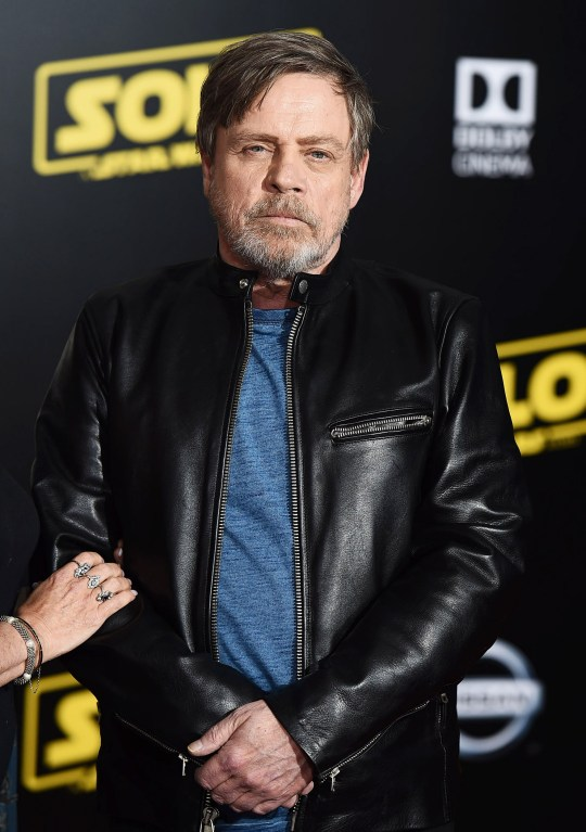 Mandatory Credit: Photo by Startraks/REX/Shutterstock (9668165ca) Mark Hamill 'Solo: A Star Wars Story' film premiere, Arrivals, Los Angeles, USA - 10 May 2018