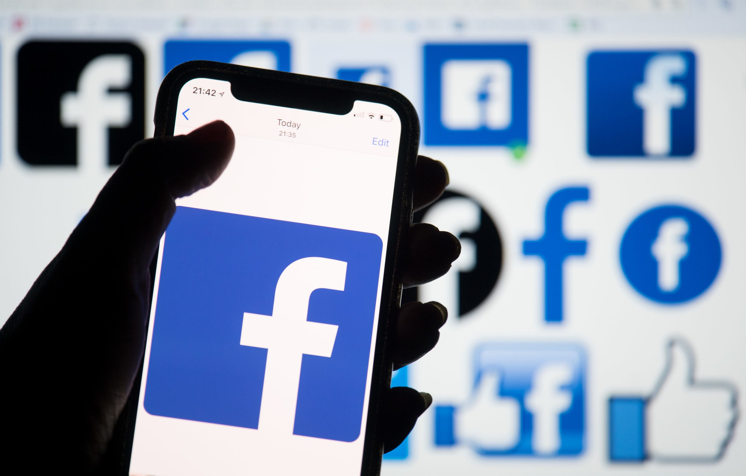 File photo dated 25/03/18 of the Facebook logo displayed on a smartphone, as the social networking site has banned far-right groups including the British National Party (BNP) and the English Defence League (EDL) from having any presence on the social network for violating the site's rules around promoting hate and violence. PRESS ASSOCIATION Photo. Issue date: Thursday April 18, 2019. The banned groups, which also includes Knights Templar International, Britain First and the National Front as well as key members of their leadership, have been removed from both Facebook or Instagram. See PA story TECHNOLOGY Hate. Photo credit should read: Dominic Lipinski/PA Wire
