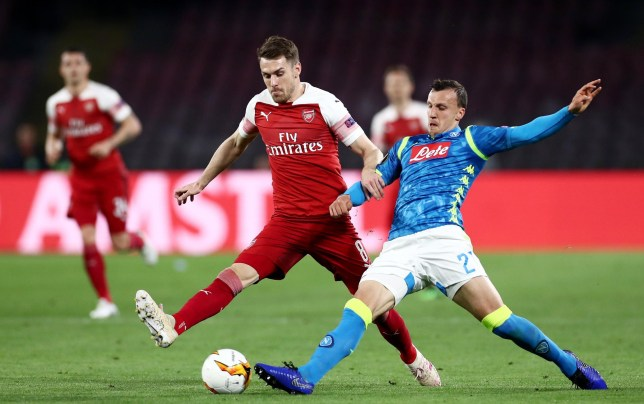 Arsenal fans fear Aaron Ramsey has played his last game for the club
