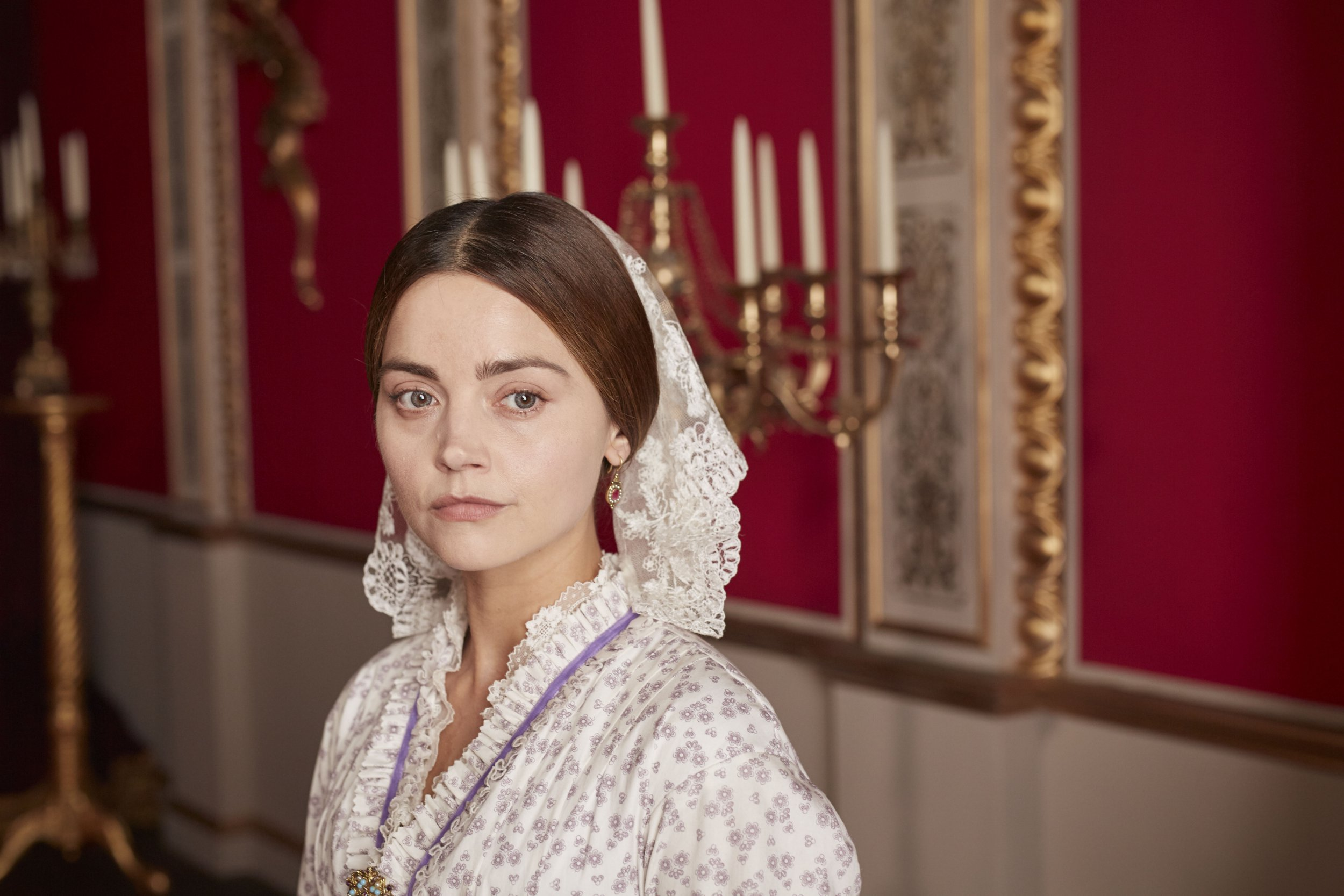 MAMMOTH SCREEN FOR ITV VICTORIA Series 3 Episode 5 Pictured: JENNA COLEMAN as Queen Victoria. This photograph must not be syndicated to any other company, publication or website, or permanently archived, without the express written permission of ITV Picture Desk. Full Terms and conditions are available on www.itv.com/presscentre/itvpictures/terms Copyright: ITV,Mammoth Screen. For further information please contact: Patrick.smith@itv.com 0207 1573044