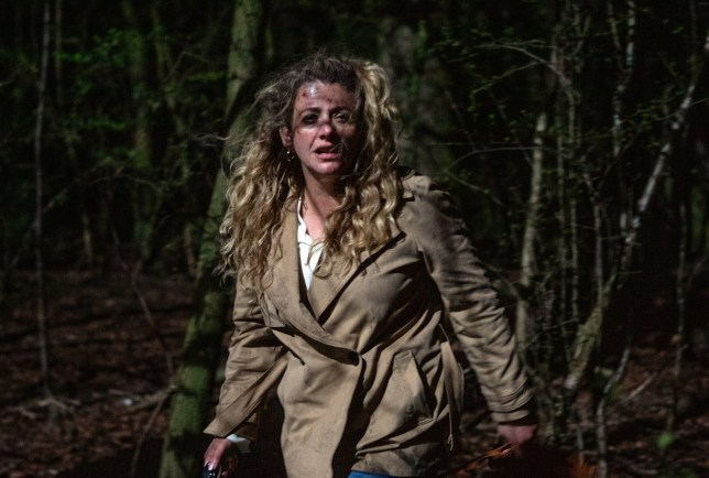 Does Maya get murdered in the woodland in Emmerdale?