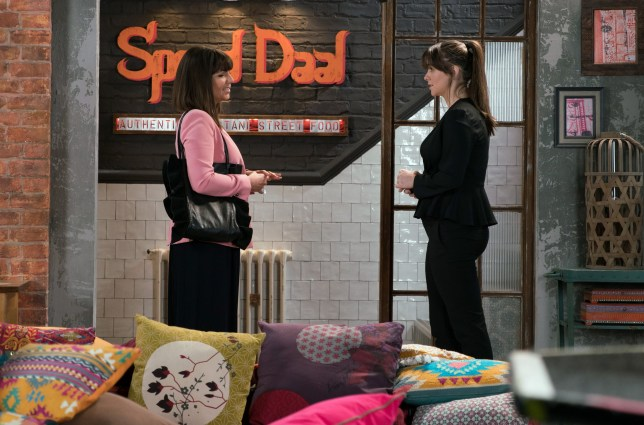 Sophie and Paula reunite in Coronation Street