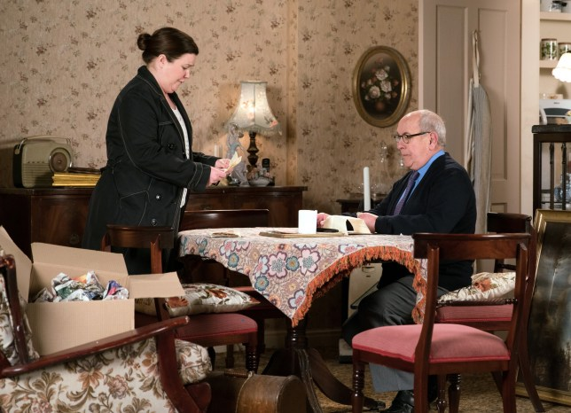 Mary is devastated by Norris' lies