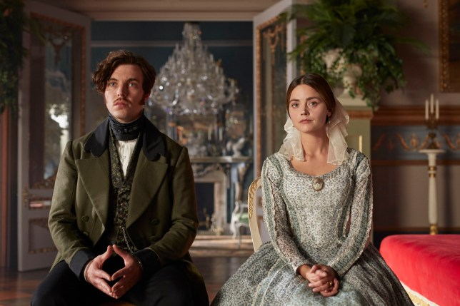 MAMMOTH SCREEN FOR ITV VICTORIA Series 3 Episode 6 Pictured: JENNA COLEMAN as Queen Victoria and TOM HUGHES as Prince Albert. This photograph must not be syndicated to any other company, publication or website, or permanently archived, without the express written permission of ITV Picture Desk. Full Terms and conditions are available on www.itv.com/presscentre/itvpictures/terms Copyright: ITV,Mammoth Screen. For further information please contact: Patrick.smith@itv.com 0207 1573044