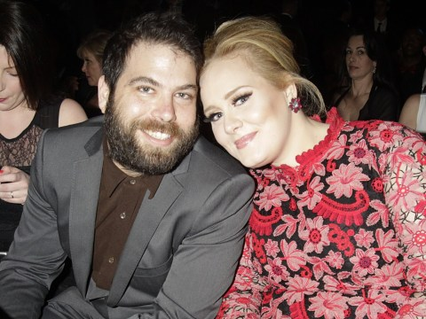 Adele 'perky as hell' after having a 'difficult year' following divorce from Simon Konecki