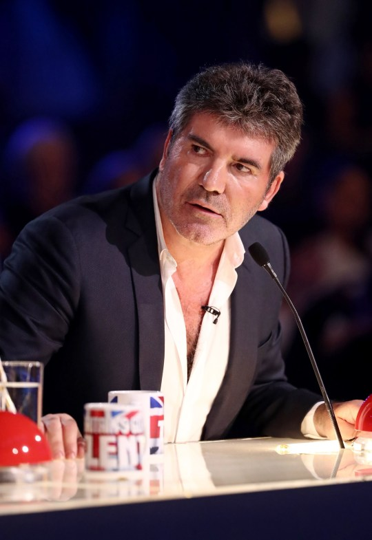 Simon Cowell 'Britain's Got Talent' TV show, Series 12, Episode 11, London, UK - 31 May 2018 Editorial use only. No book publishing Mandatory Credit: Photo by Dymond/Thames/Syco/REX/Shutterstock (9697459hy)