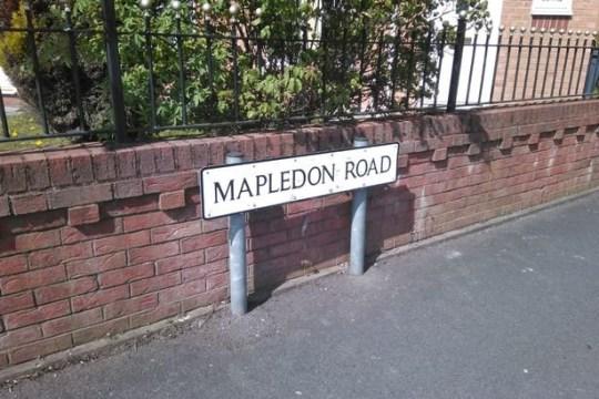 Mapledon Road in Moston, Manchester, scene of a raid MEN Media