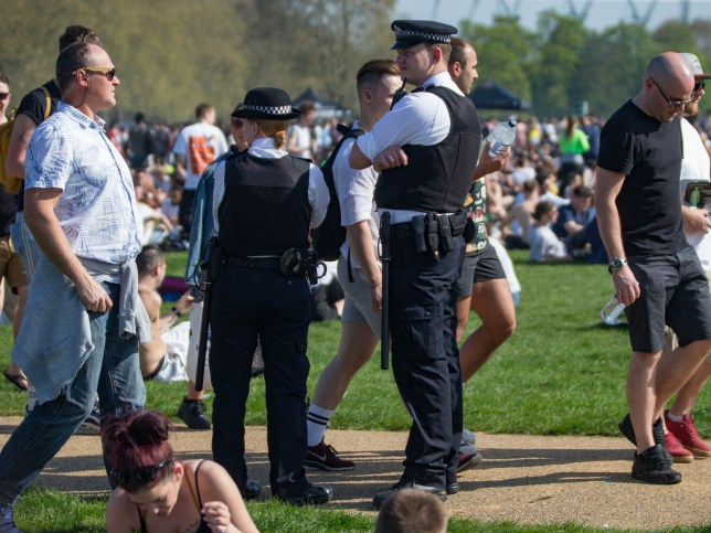 The annual London 420 Pro Cannabis Rally. Held in Hyde Park. Marijuana activists and smokers unite for a day of smoking, protests, and community. Featuring: Atmosphere, View Where: London, United Kingdom When: 20 Apr 2019 Credit: Wheatley/WENN