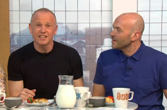 Sunday Brunch presenters