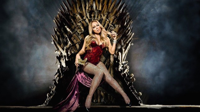 Mariah Carey posts the ultimate Game Of Thrones spoiler... that she is a QUEEN. Provider: Twitter/MariahCarey Source: https://twitter.com/MariahCarey/status/1120127194783801345