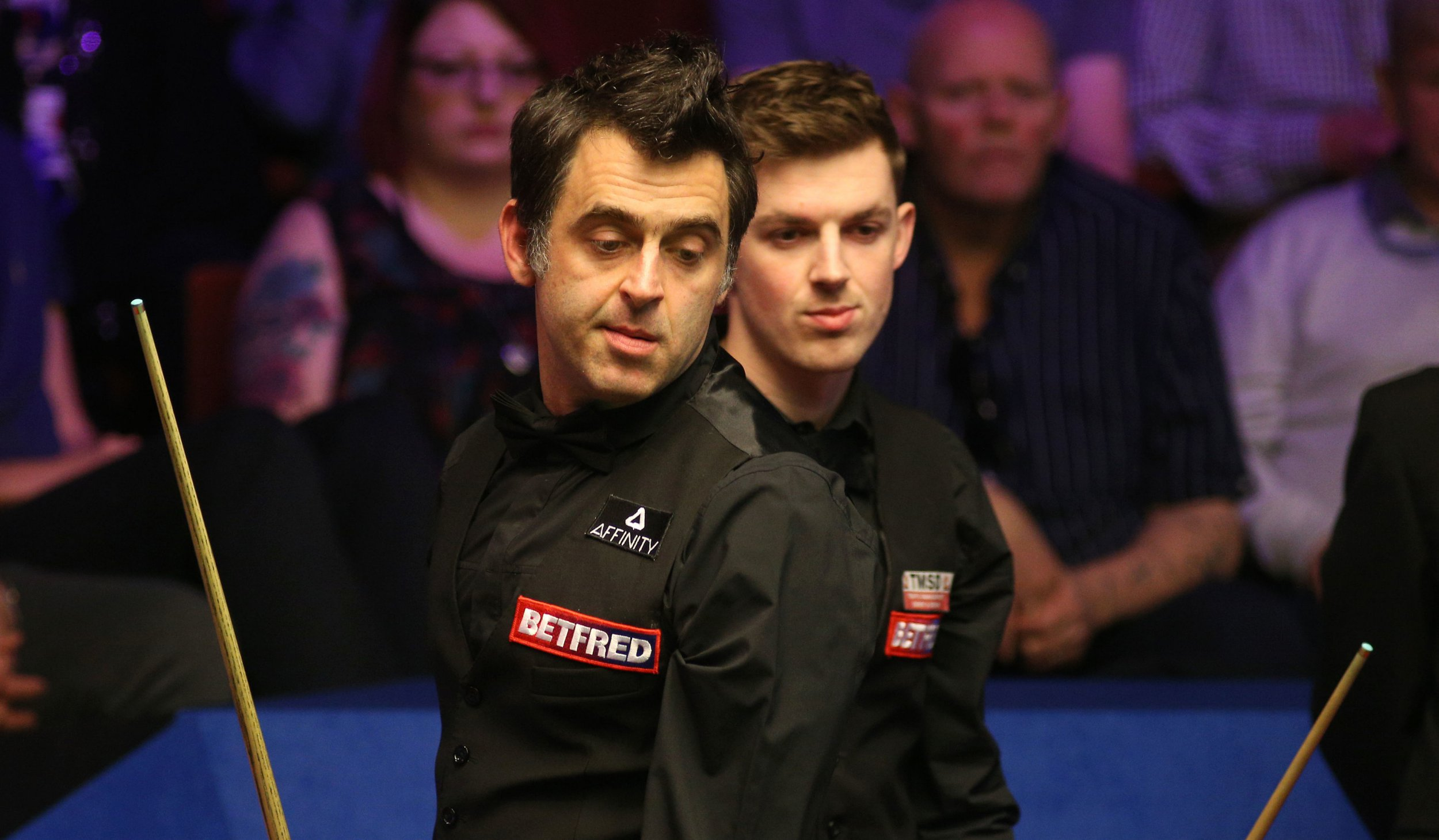 Ronnie O'Sullivan played his worst session of snooker all season against James Cahill, says Steve Davis