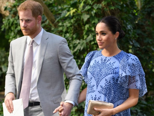 prince harry and pregnant meghan markle