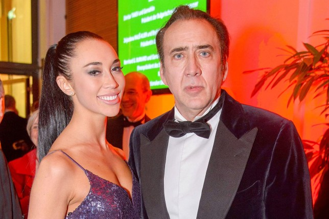 Nicolas Cage, Erika Koike ORIGINAL CAPTION (woman identified incorrectly as Alice Kim): Photo Must Be Credited ?Alpha Press 072642KH 02/03/2019Nicolas Cage and Alice Kim at the Juristenball 2019 Ball held at DescriptionThe Hofburg Palace in Vienna, Austria