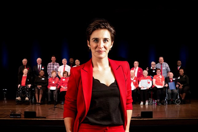 Programme Name: Our Dementia Choir with Vicky McClure - TX: n/a - Episode: n/a (No. n/a) - Picture Shows: Vicky McClure - (C) Curve Media - Photographer: Pete Dadds