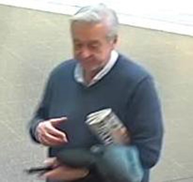 Undated handout CCTV image issued by British Transport Police of a man police wish to speak with after a 15-year-old girl was a victim of upskirting at Manchester Piccadilly station on April 1. PRESS ASSOCIATION Photo. Issue date: Tuesday April 23, 2019. A force spokesman said the man followed her around Sainsbury's in the station at about 4.30pm and made multiple attempts to place his phone under her skirt, doing so while she was at the till. See PA story POLICE Upskirting. Photo credit should read: British Transport Police/PA Wire NOTE TO EDITORS: This handout photo may only be used in for editorial reporting purposes for the contemporaneous illustration of events, things or the people in the image or facts mentioned in the caption. Reuse of the picture may require further permission from the copyright holder.