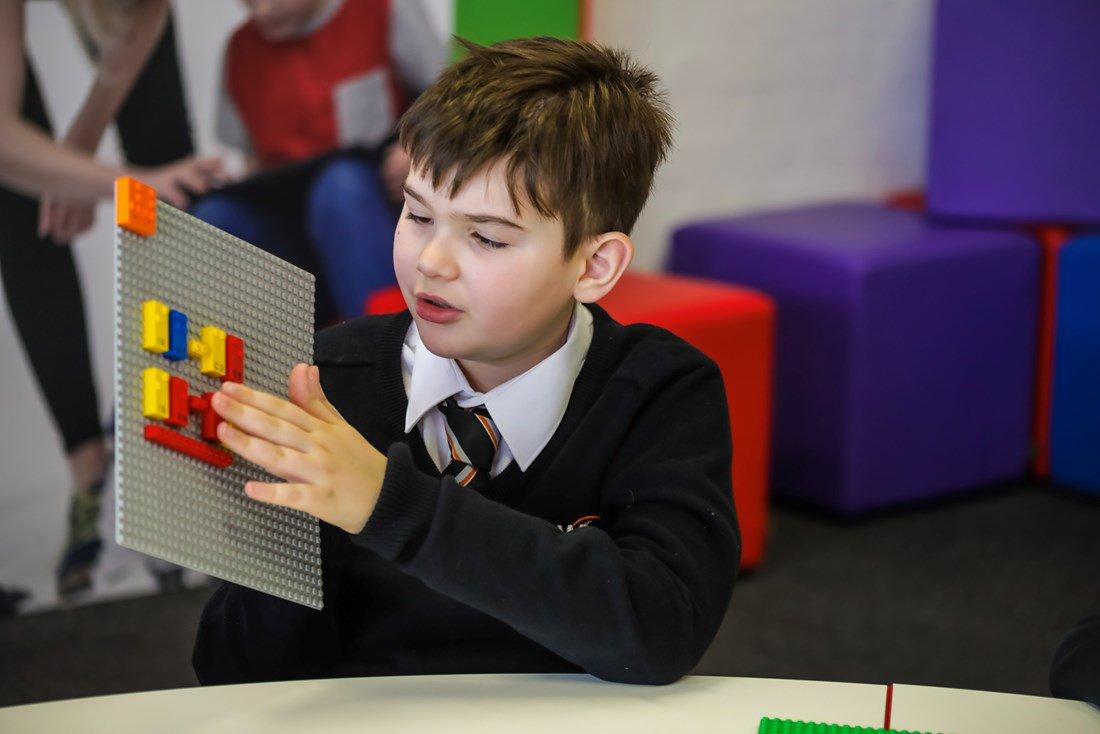 Lego launches Braille Bricks to help blind children learn through play