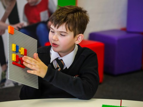 Lego launches Braille Bricks to help blind children learn through play