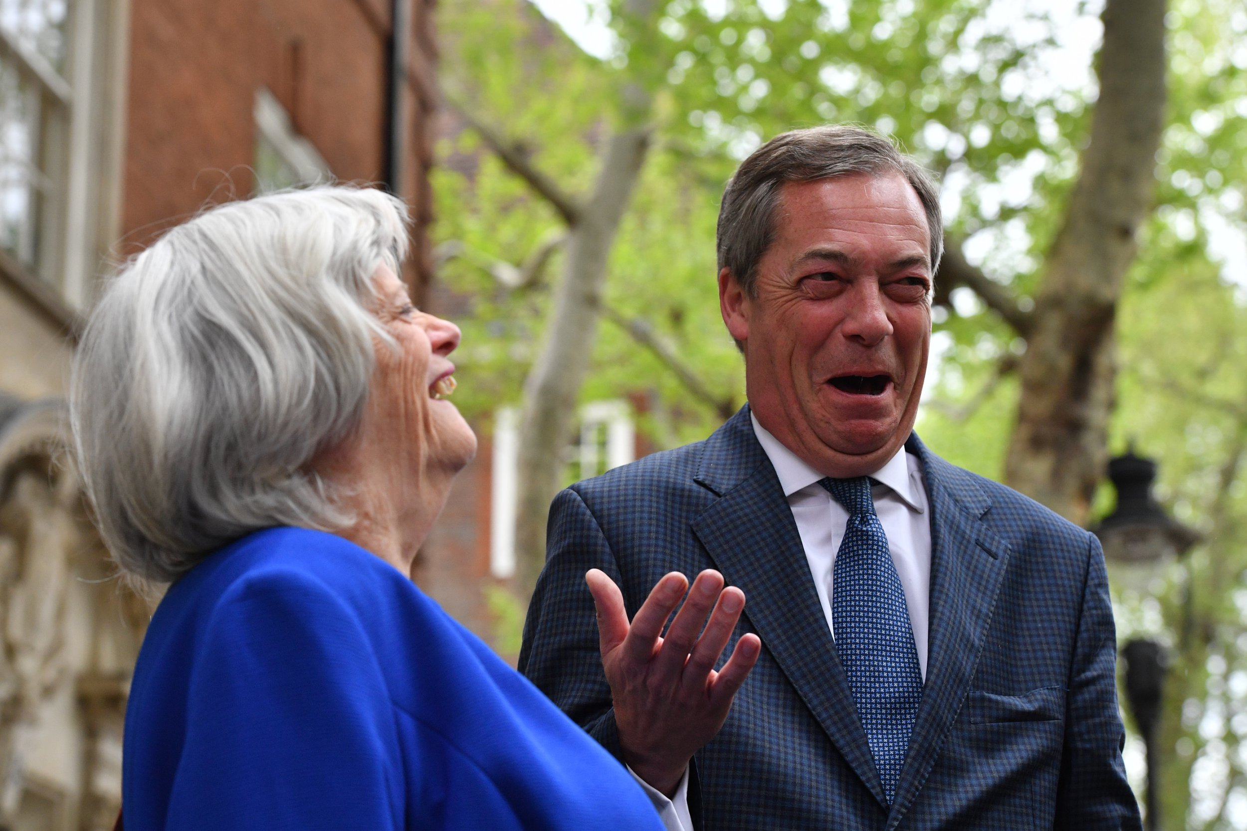 Ex-Tory minister Ann Widdecombe to join Nigel Farage's Brexit party