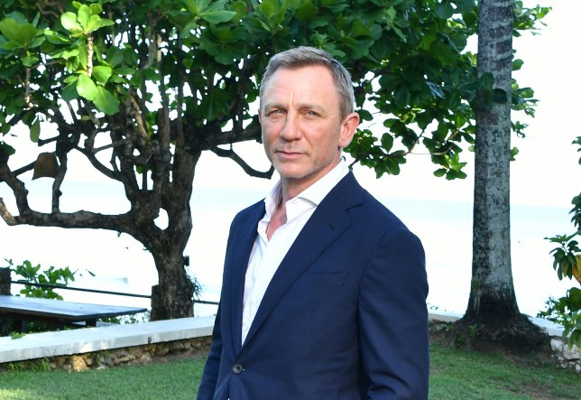 "Daniel Craig attends the ""Bond 25"" film launch"