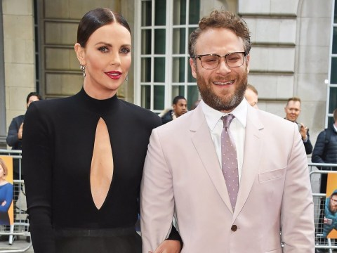 Seth Rogen and Charlize Theron the most unlikely of love interests but somehow it works