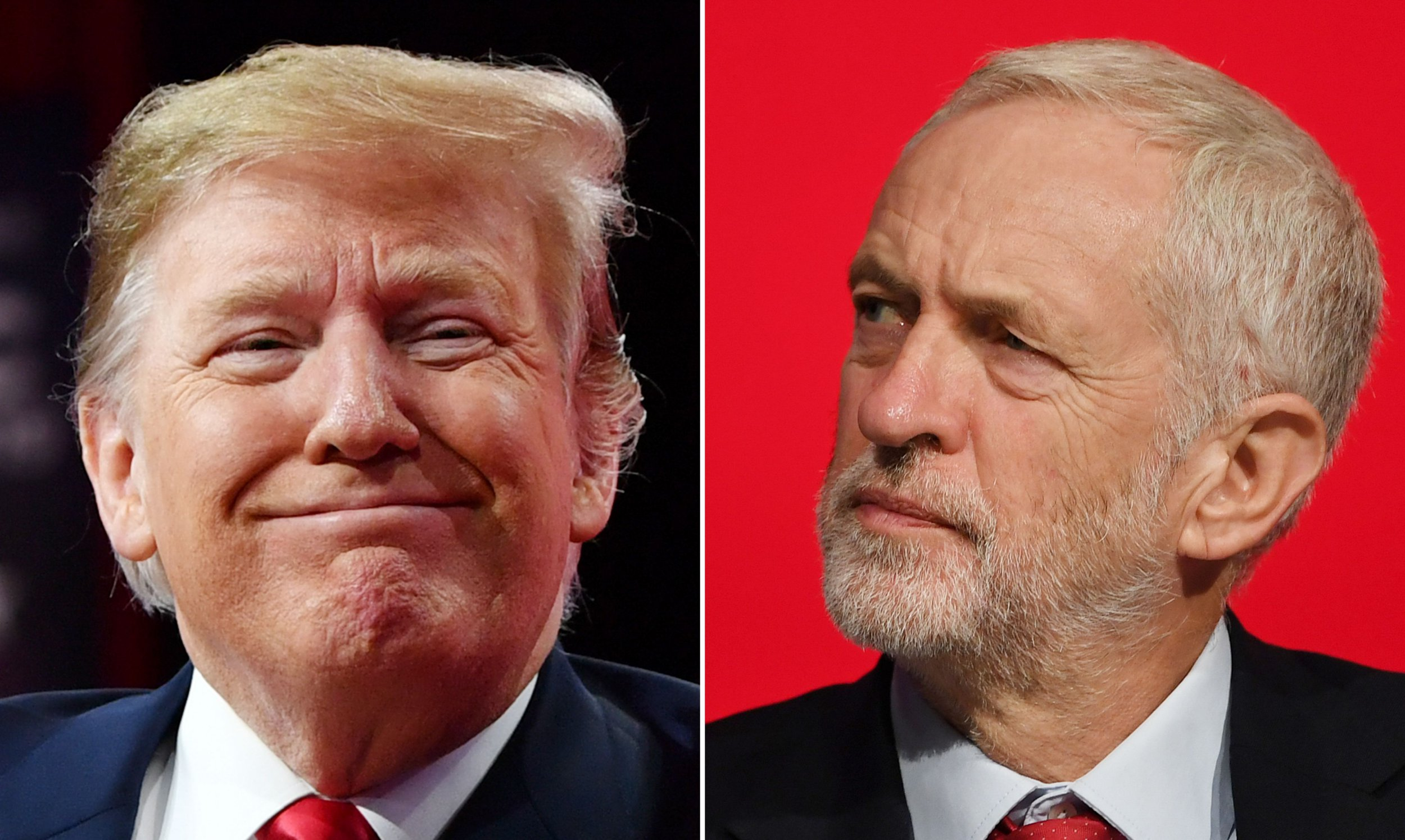 Jeremy Corbyn refuses to attend state banquet for Donald Trump