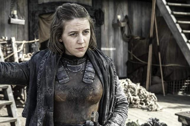 Gemma Whelan as Yara Greyjoy in Game of Thrones